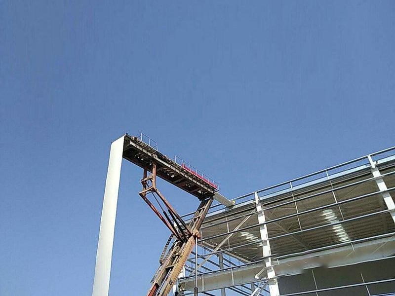 楼承板施工现场